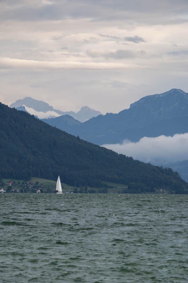 Impression vom Zuger See